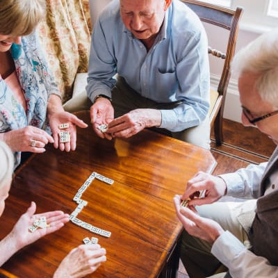 Games at Seven Hills Senior Living in Saint Paul, Minnesota