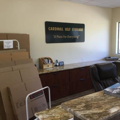 Reviews at Cardinal Self Storage - South Durham in Durham, North Carolina