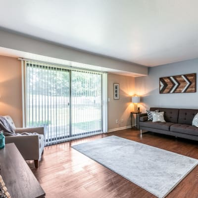 View floor plans at Okemos Station Apartments in Okemos, Michigan