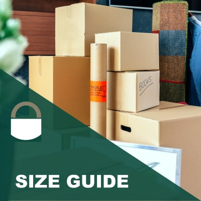Lock It Up Self Storage size guide