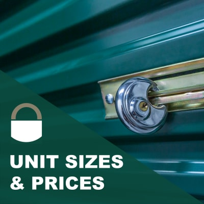 View units and sizes at Lock It Up Self Storage in Layton, Utah