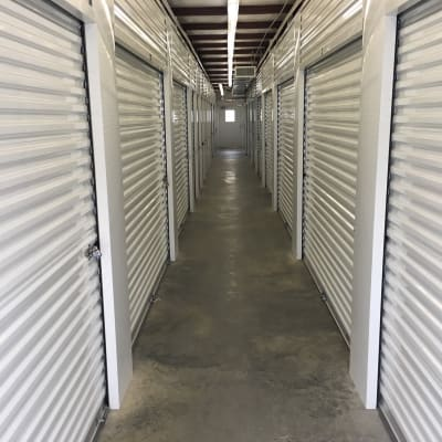 Valuable storage units at B & H Self Storage in Aiken, South Carolina