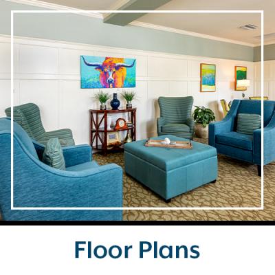 Floor plans at Prestonwood Court in Plano, Texas