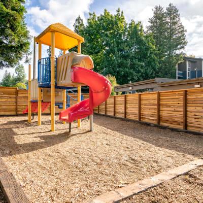 Onsite playground at Terra Martinez in Martinez, California