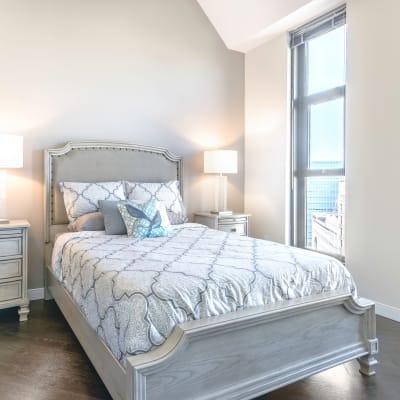 Bedroom at The Buckler in Milwaukee, Wisconsin