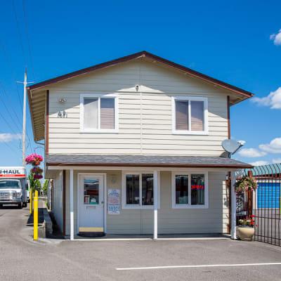 Rental office at Battle Ground Mini Storage in Battle Ground, Washington