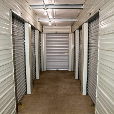 Interior storage units at Battle Ground Mini Storage in Battle Ground, Washington