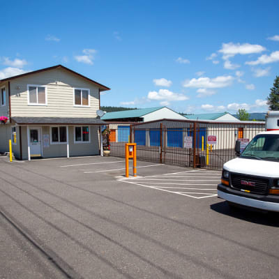 The storage facility of Battle Ground Mini Storage in Battle Ground, Washington