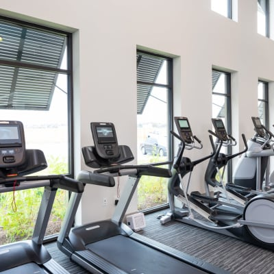 24-Hour Fitness Studio at Bellrock Market Station in Katy, Texas