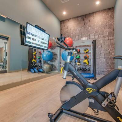 24-Hour Fitness Studio at Bellrock Upper North in Haltom City, Texas