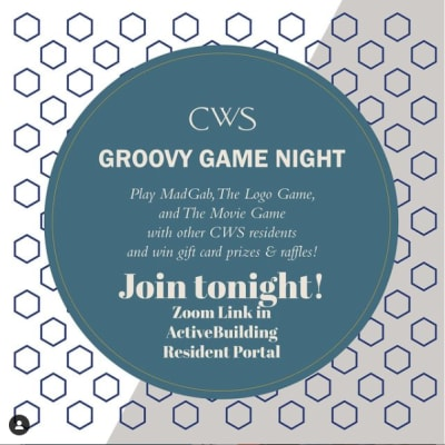 Groovy game night at a property owned by CWS Apartment Homes in Austin, Texas