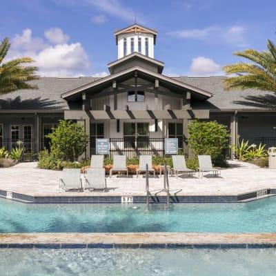 Gorgeous swimming pool at Integra 289 Exchange in DeBary, Florida