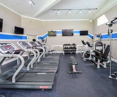 Timberlake Apartment Homes offers a fitness center in East Norriton, PA