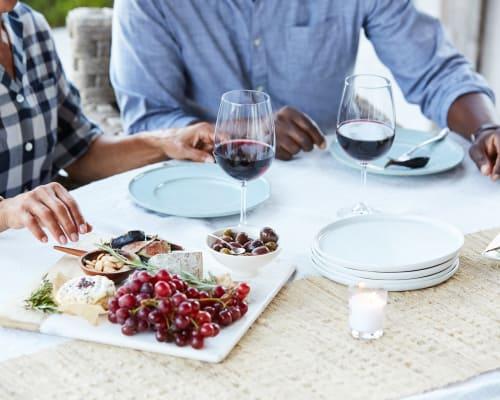 Couple dining at Avenida Partners, LLC in Newport Beach