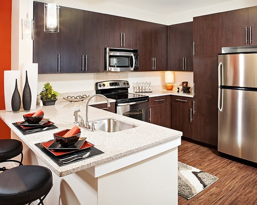 View our floor plans at Palette at Arts District in Hyattsville, Maryland