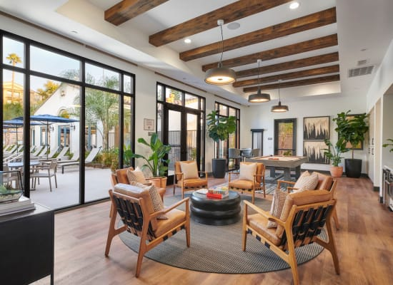 Enjoy great gathering spaces at California in Riverside