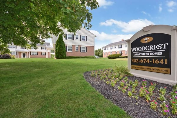 Enjoy the neighborhood at Woodcrest Apartment Homes