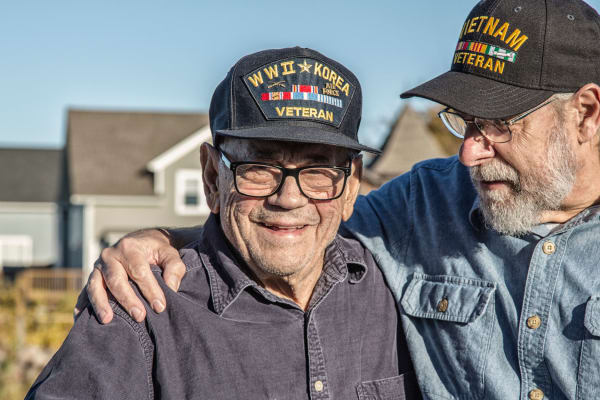 Veterans and spouses receive benefits at our South Carolina senior living community