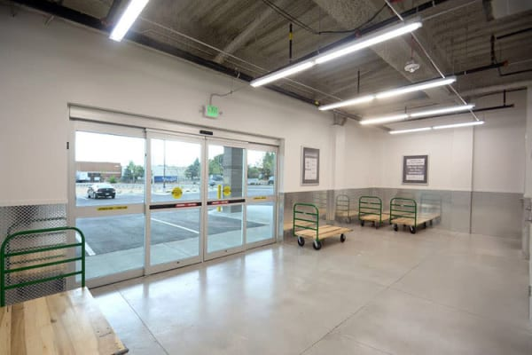 Clean interiors at Edgemark Self Storage