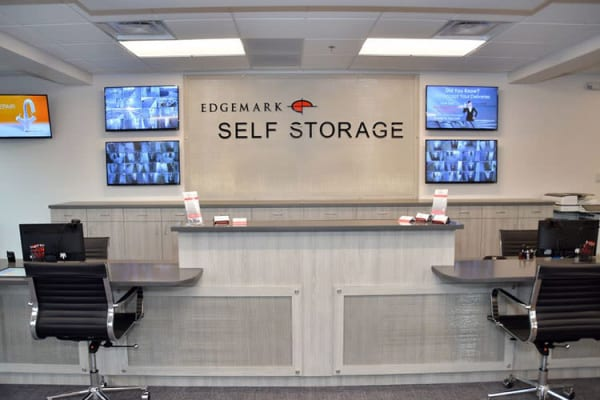 Front desk at Edgemark Self Storage