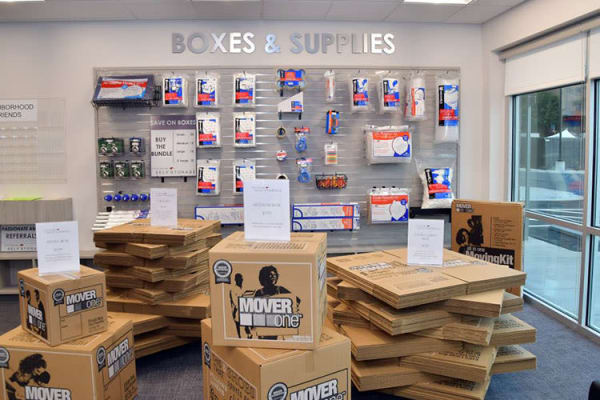Packing and moving supplies offered at Edgemark Self Storage