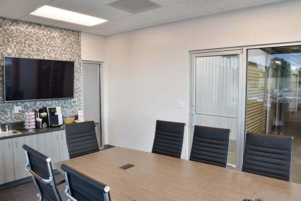 Edgemark Self Storage offers a conference room