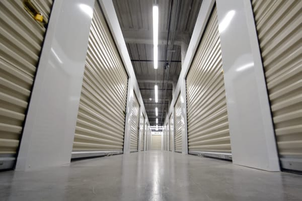 Interior units at Edgemark Self Storage