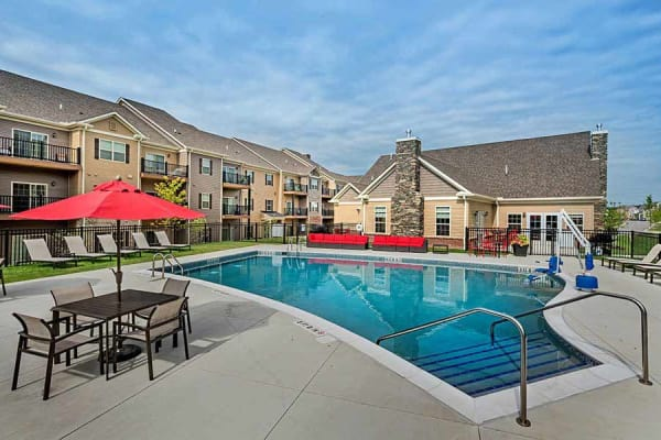 Pool at Eden Square Apartments