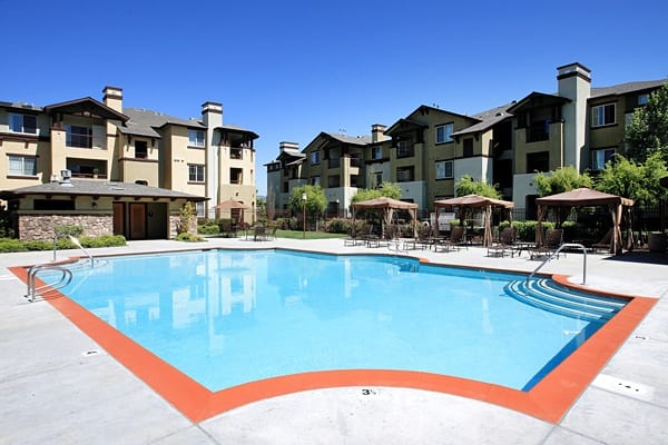 Community amenities are awesome at The Lodge at Napa Junction in American Canyon, California