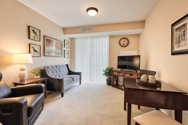 Month-to-Month Rentals at senior living community in Powell, OH