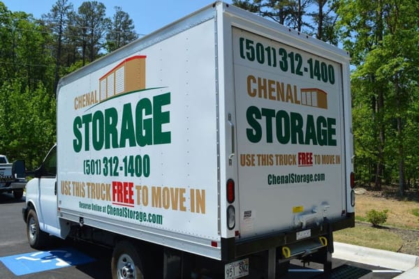 Our storage unit features in Little Rock