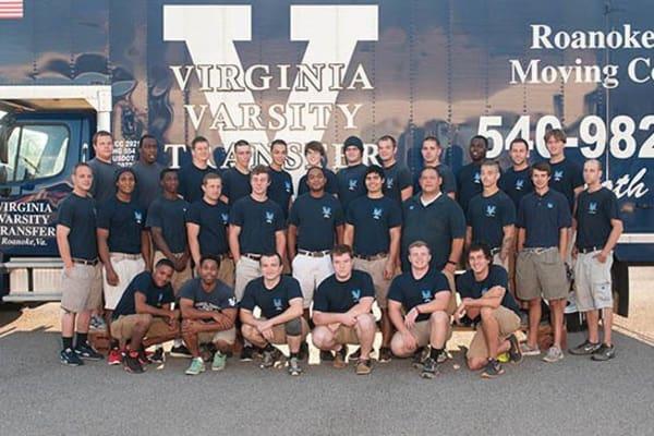 Team photo for  Virginia Varsity Transfer & Storage