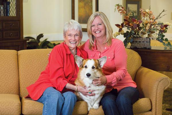 Variety of amenities at senior living community in Ellisville, MO