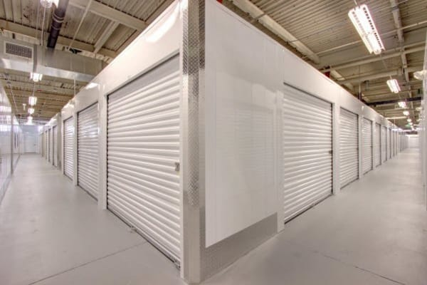 Indoor units at Denver self storage