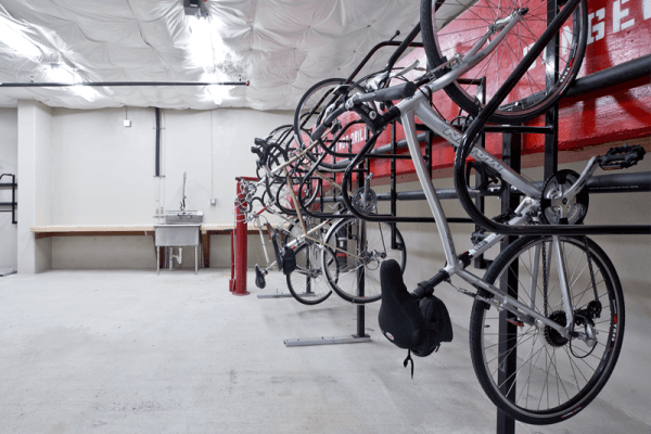 Bicycle Storage at The Century
