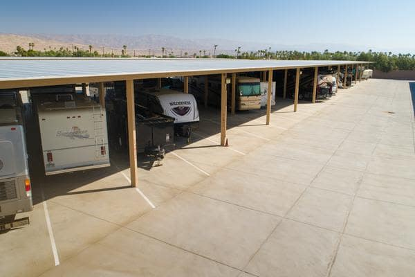 RV Storage in Cathedral City, California