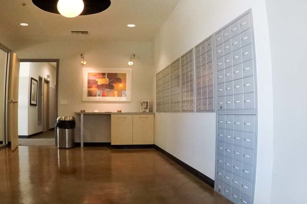 Mailboxes at Stor It Self Storage & Business Center in Clovis, California