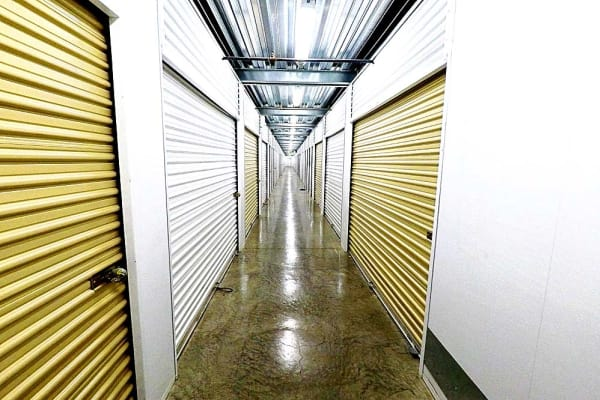 Bright interior spaces at Stor It Self Storage & Business Center in Clovis, California