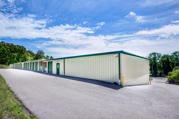 Outdoor units at The Storage Store in Andover, New Jersey