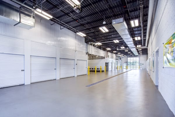 Indoor units at Metro Self Storage in Blaine, Minnesota