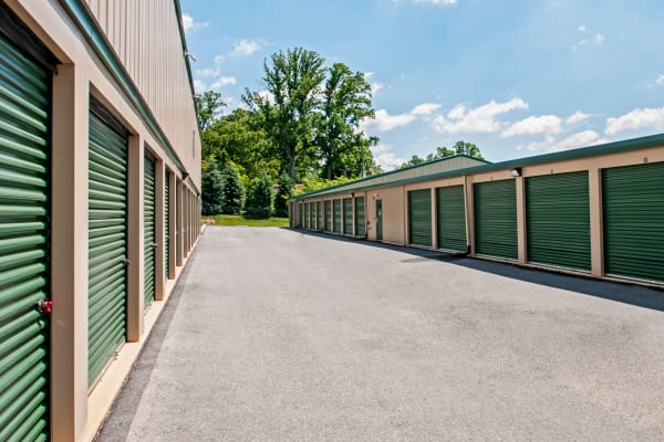 Outdoor units at Metro Self Storage in Newtown Square, Pennsylvania