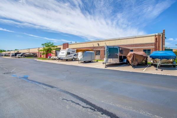RV and boat storage at Metro Self Storage in Orono, Minnesota