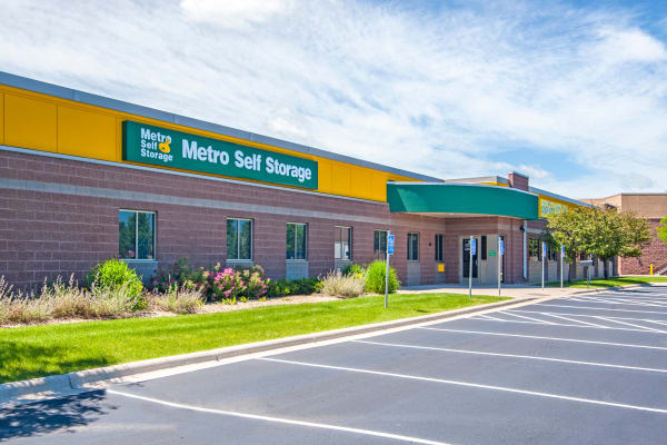 Parking area at Metro Self Storage in Orono, Minnesota