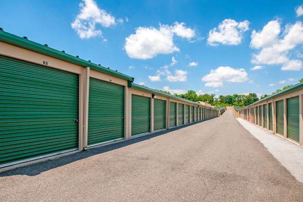 Outdoor units at Metro Self Storage in Sharon Hill, Pennsylvania