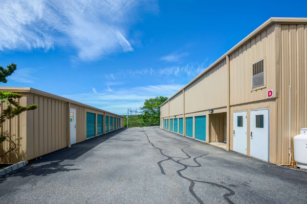 Outdoor units at Metro Self Storage in Stanhope, New Jersey