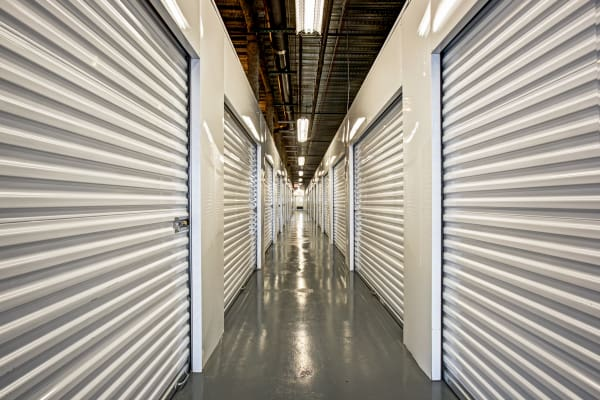 Indoor units hallway at Metro Self Storage in Brooklyn, New York