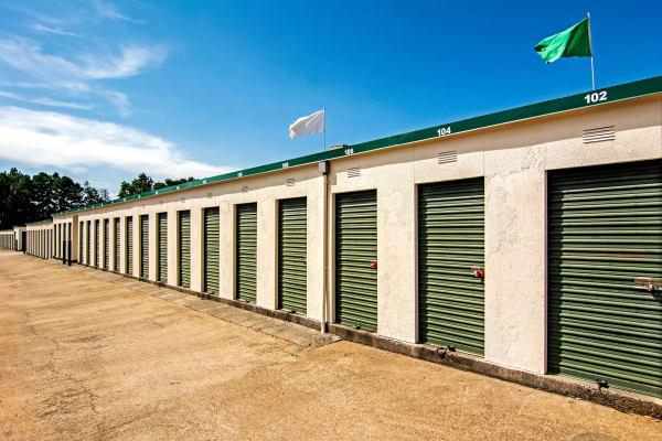 Outdoor units at Metro Self Storage in Mableton, Georgia