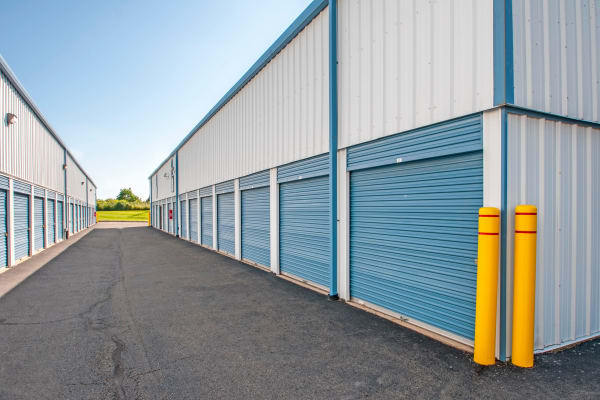 Outdoor units at Metro Self Storage in Newtown, Pennsylvania