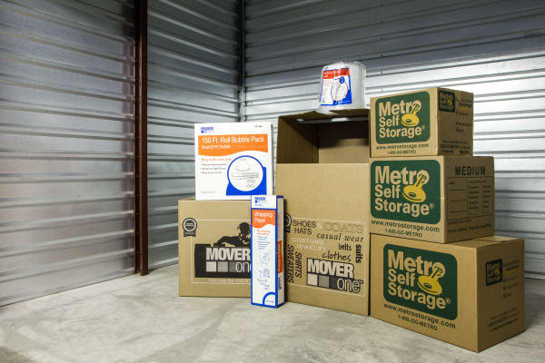 Interior Units at Metro Self Storage in Amarillo, TX