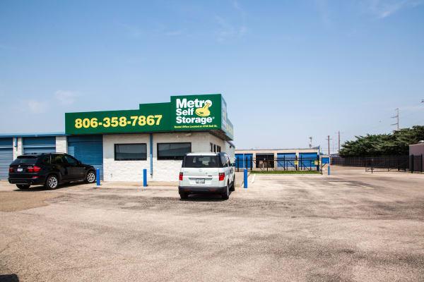 Parking at Metro Self Storage in Amarillo, TX